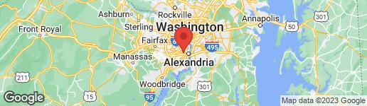 Map of 3327 Duke Street Alexandria, VA 22043