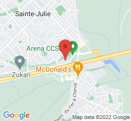 Google Map of 333%2C+boul.+Armand-Frappier%2CSainte-Julie%2CQuebec+J3E+1Y2
