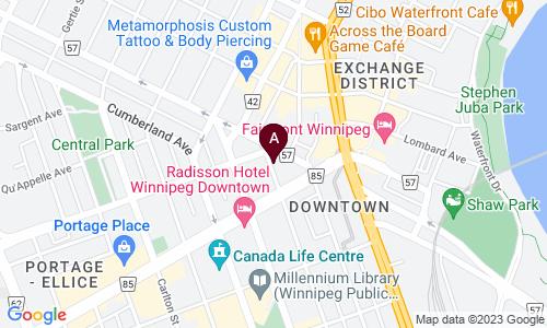 map of GARRY STREET COFFEE COMPANY