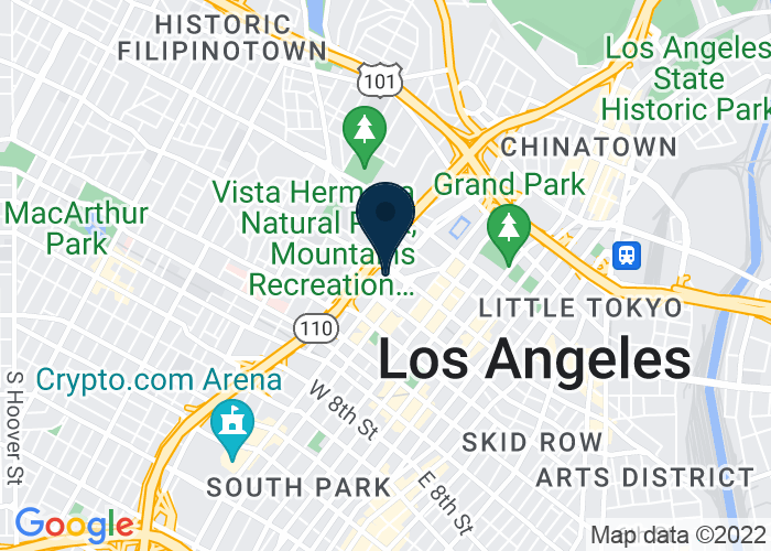 Map of 333 South Figueroa Street, Los Angeles, CA 90071, United States