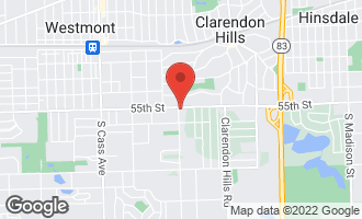 Map of 333 Coventry Court CLARENDON HILLS, IL 60514