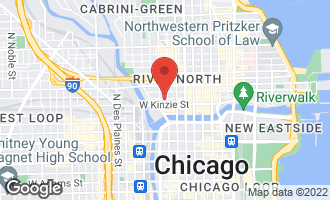 Map of 333 West Hubbard Street #523 CHICAGO, IL 60610