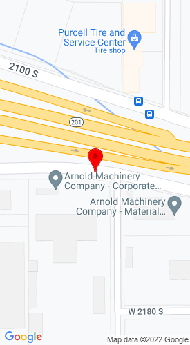 Google Map of Rasmussen Equipment Company 3333 West 2100 South, West Valley City, UT, 84119