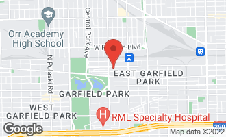 Map of 3333 West Fulton Boulevard #1 CHICAGO, IL 60624