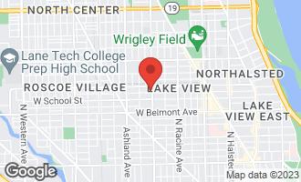 Map of 3338 North Southport Avenue C1 CHICAGO, IL 60657
