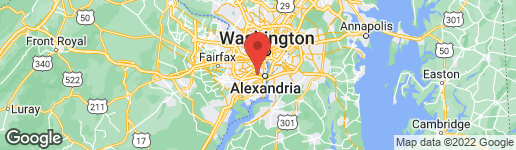 Map of 3339-3341 Duke Street Alexandria, VA 22314