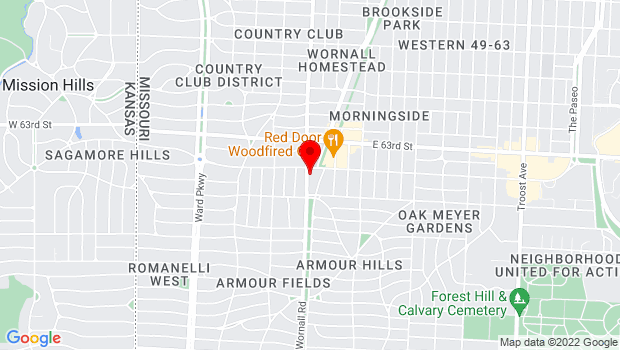 Google Map of 333W. Meyers Blvd, Kansas City, MO 64113