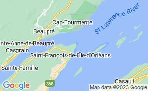 Map of Camping De La Pointe De L'argentenay