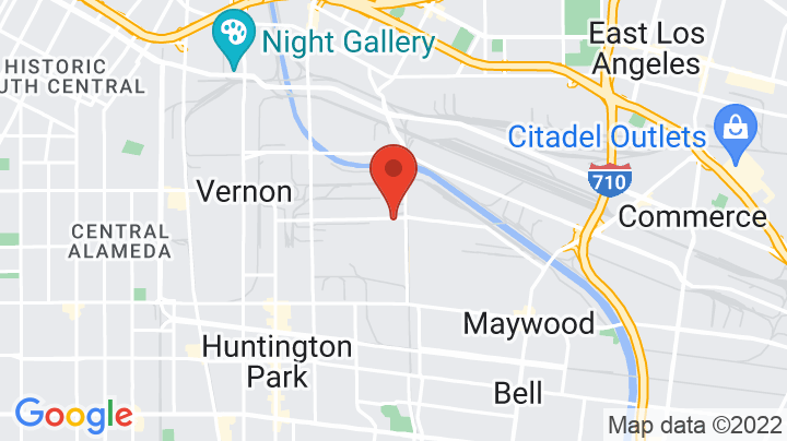 Google Map of Loveseat Vintage Furniture Los Angeles