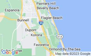 Map of Encore Bulow Plantation RV Resort