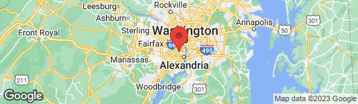 Map of 3345 S STAFFORD STREET B1 ARLINGTON, VA 22206