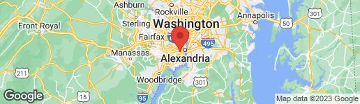 Map of 3346 WILTON CREST COURT ALEXANDRIA, VA 22310