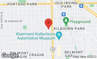 Map of 3347 North Lamon Avenue #3 CHICAGO, IL 60641