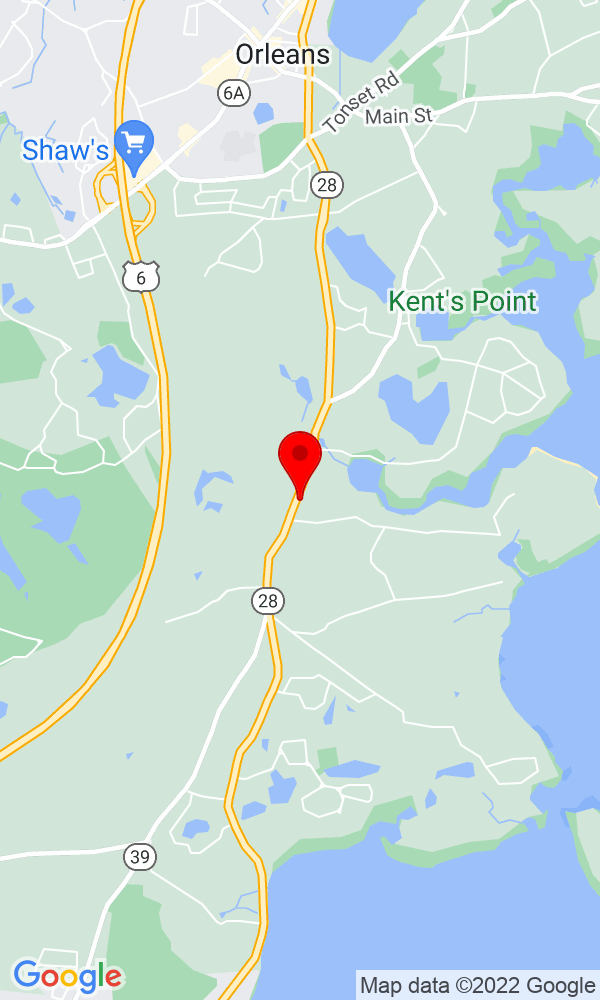 Google Map of 335 South Orleans Road Orleans MA