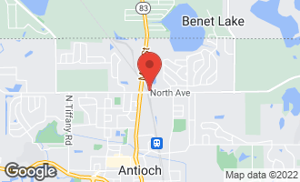 Map of 335 North Avenue ANTIOCH, IL 60002