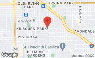 Map of 3354 North Pulaski Road CHICAGO, IL 60641