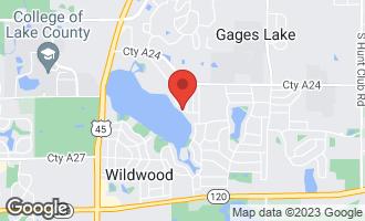 Map of 33550 North Lake Shore Drive GRAYSLAKE, IL 60030