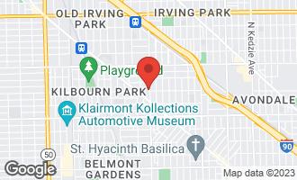 Map of 3368 North Pulaski Road CHICAGO, IL 60641