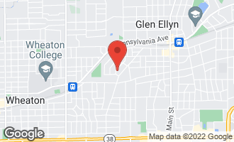 Map of 337 Windsor Avenue GLEN ELLYN, IL 60137