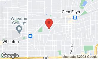 Map of 337 Windsor Avenue GLEN ELLYN, IL 60137