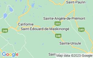 Map of Camping Du Zoo De Saint-Édouard