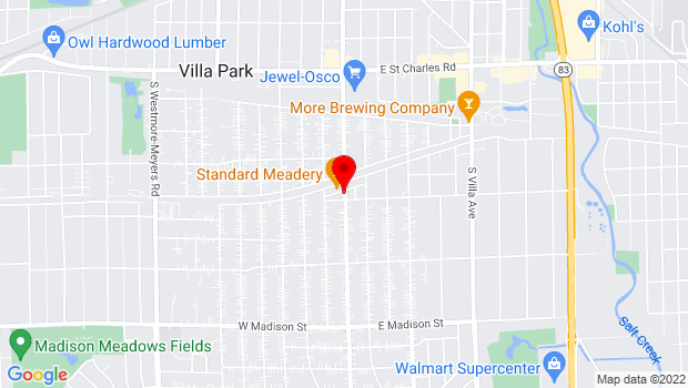 Google Map of 338 S. Ardmore Avenue, Villa Park, IL 60181