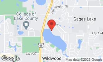 Map of 33800 North Lake Shore Drive GRAYSLAKE, IL 60030