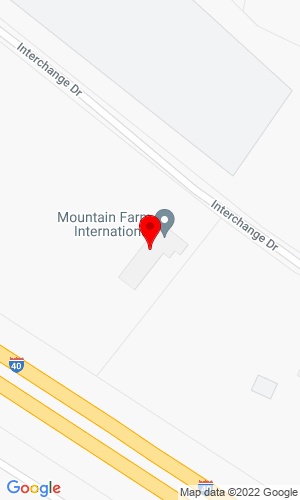 Google Map of Mountain Farm International 339 Interchange Drive, Crossville, TN, 38571