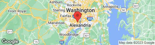 Map of 3393 GOVERNORS CREST COURT ALEXANDRIA, VA 22310