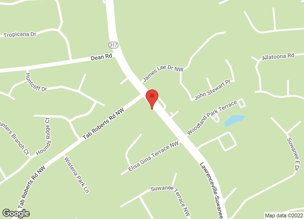 Google Map of VCA Falcon Village Animal Hospital