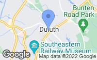 Map of Duluth, GA