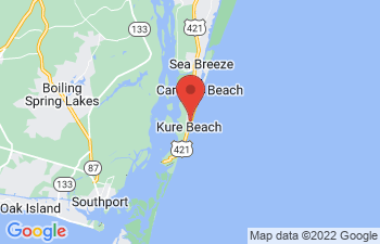 Map of Kure Beach