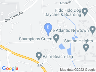 Map of Furry Angels Pet Spa Dog Boarding options in Alpharetta | Boarding