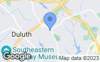 Map of Duluth, GA