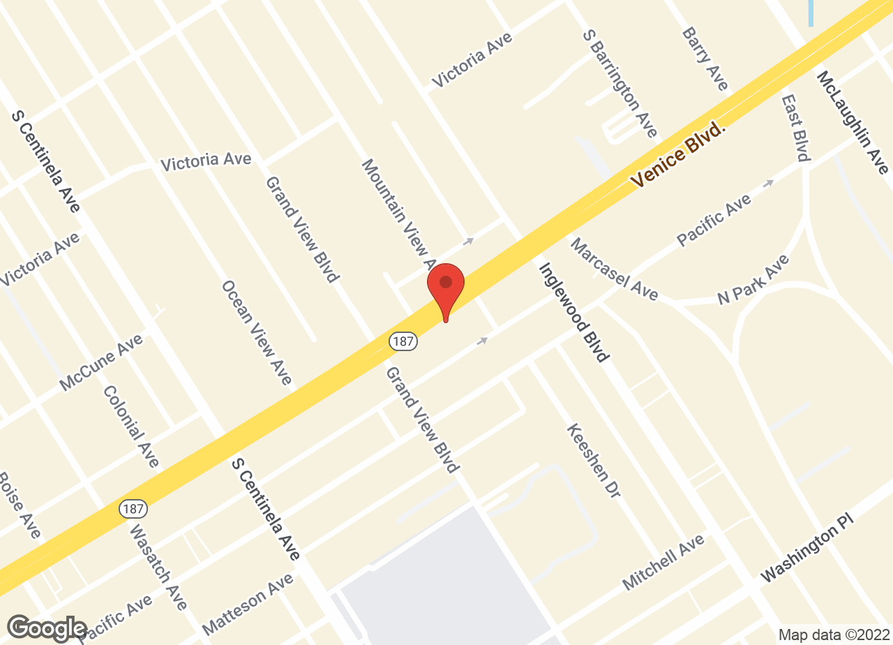Google Map of VCA Venice Boulevard Animal Hospital