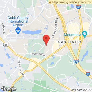 Map of Terminix at 975 Cobb Place Blvd, Kennesaw, GA 30144