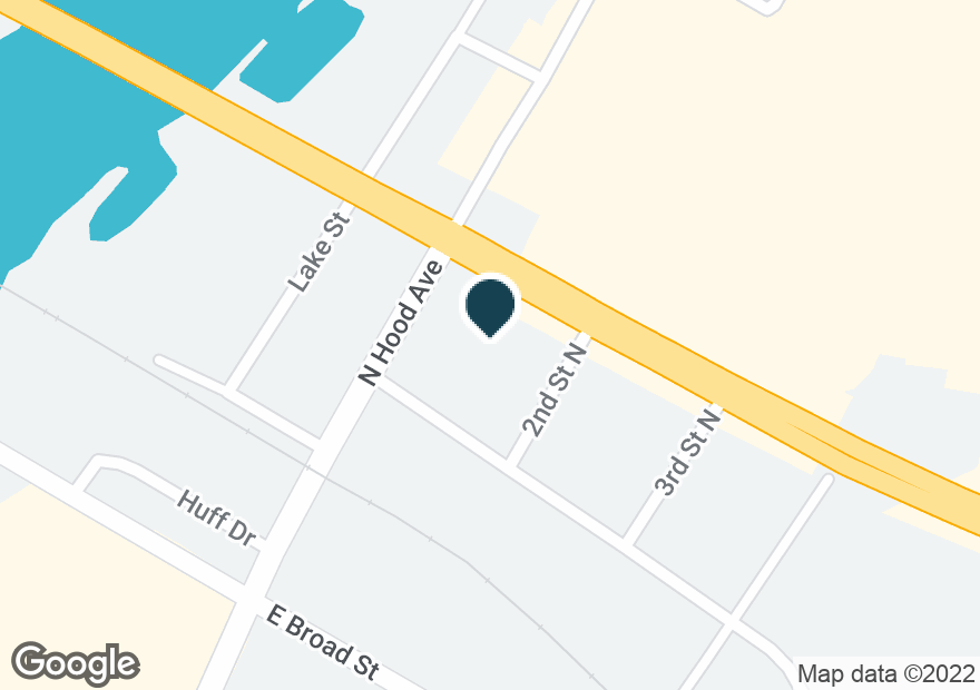 Google Map of107 E MEIGHAN BLVD