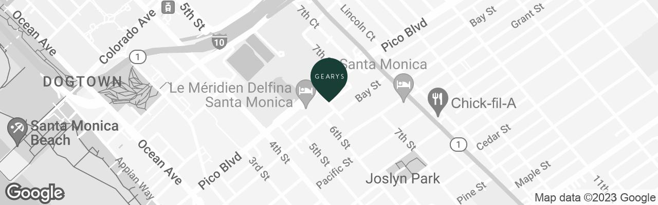 map static for GEARYS Rolex Boutique - Santa Monica