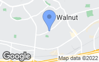 Map of Walnut, CA