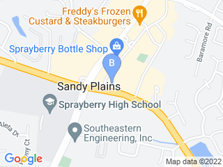 Map of Southern Tails Academy Dog Boarding options in Marietta | Boarding