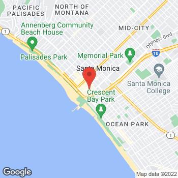 Map of Michael Kors at 395 Santa Monica Pl, Santa Monica, CA 90401