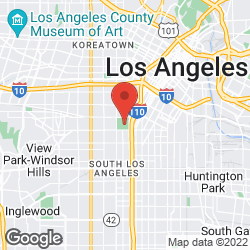 Los Angeles Memorial Coliseum on the map
