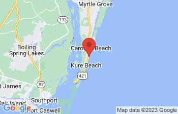 Map of Carolina Beach