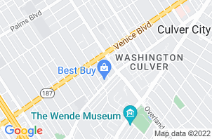 Culver City Mattress Store Location Map