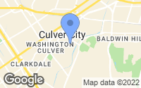 Map of Culver City, CA