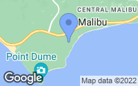 Map of Malibu, CA