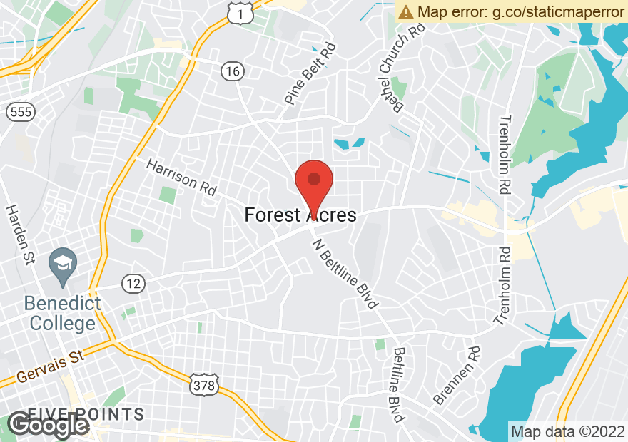 Google Map of 3501 FOREST DR