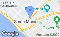 Map of Santa Monica, CA