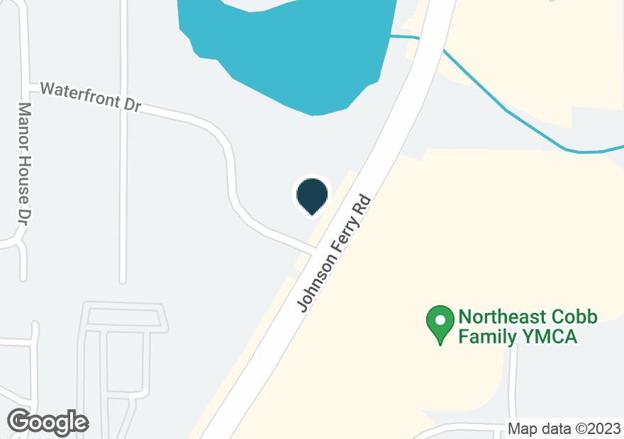 Google Map of3033 JOHNSON FERRY RD