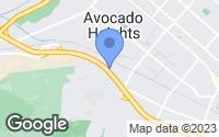 Map of Hacienda Heights, CA